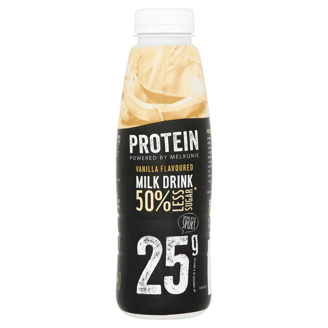 Productafbeelding Melkunie Prot Vanilla Milk Dr 500g FL