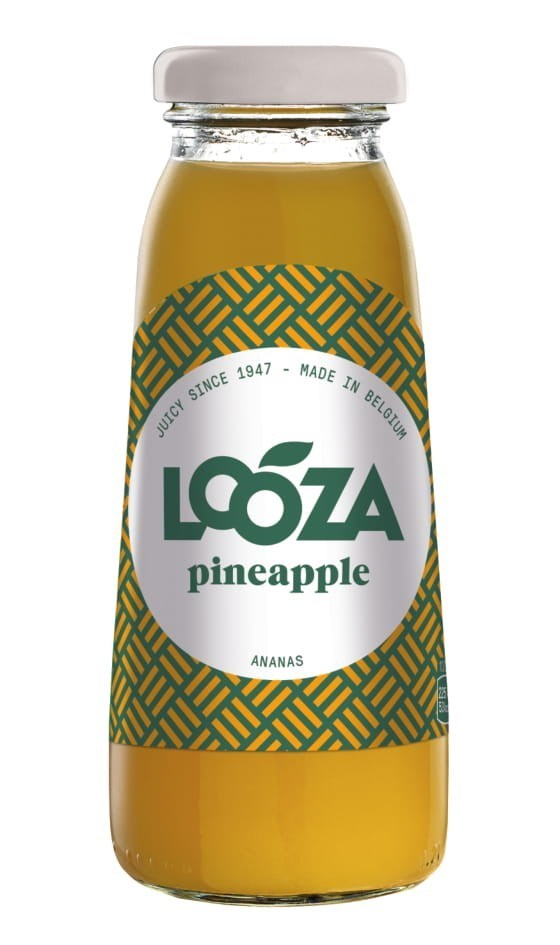 Productafbeelding Looza vruchtensap pineapple 20cl fles