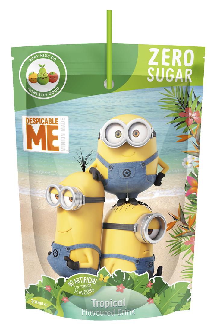 Productafbeelding Appy limonade minions tropical 200ml stazak