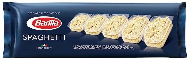 Productafbeelding Barilla Spaghetti (single portion) 5x200g