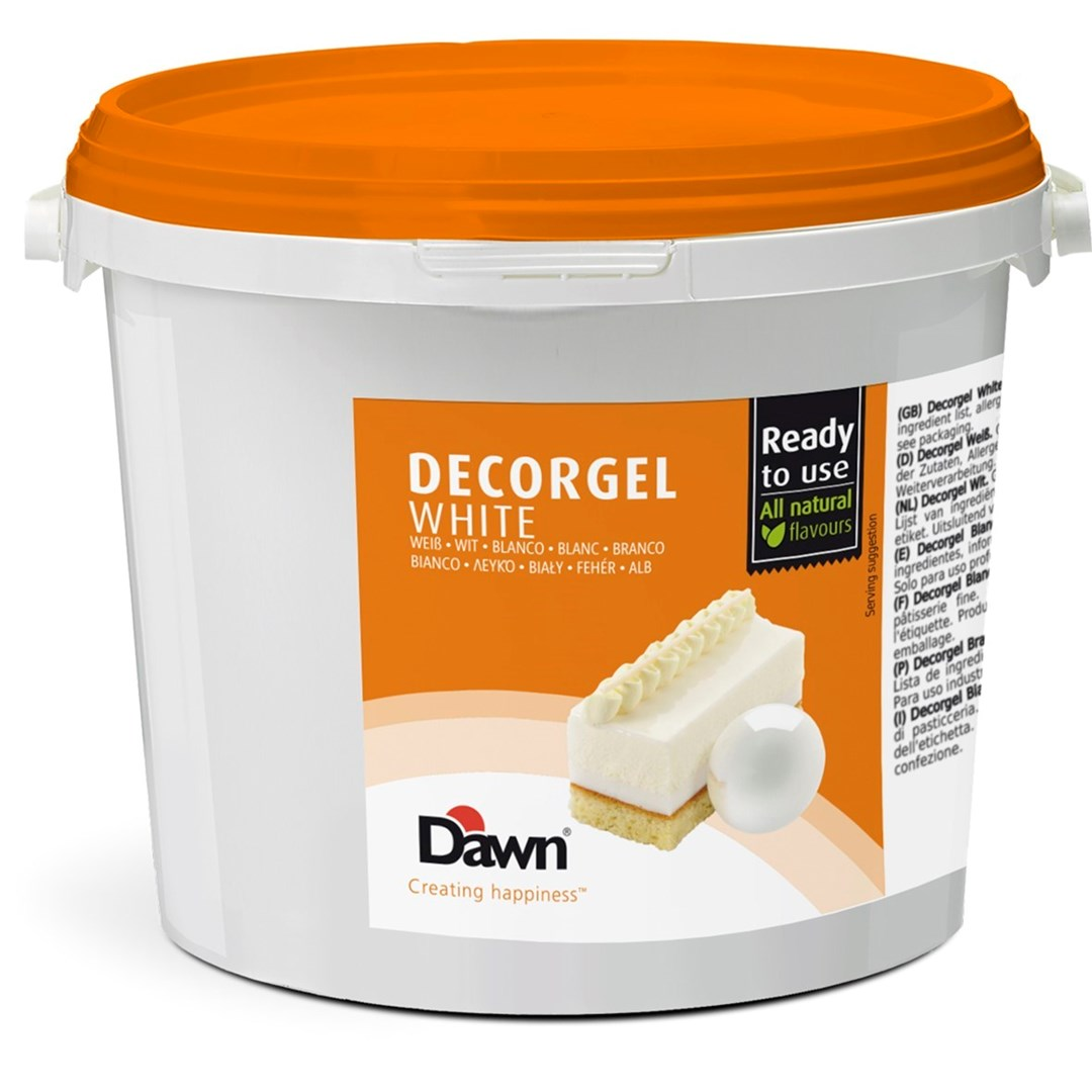 Productafbeelding Dawn Decorgel Wit 3 kg emmer