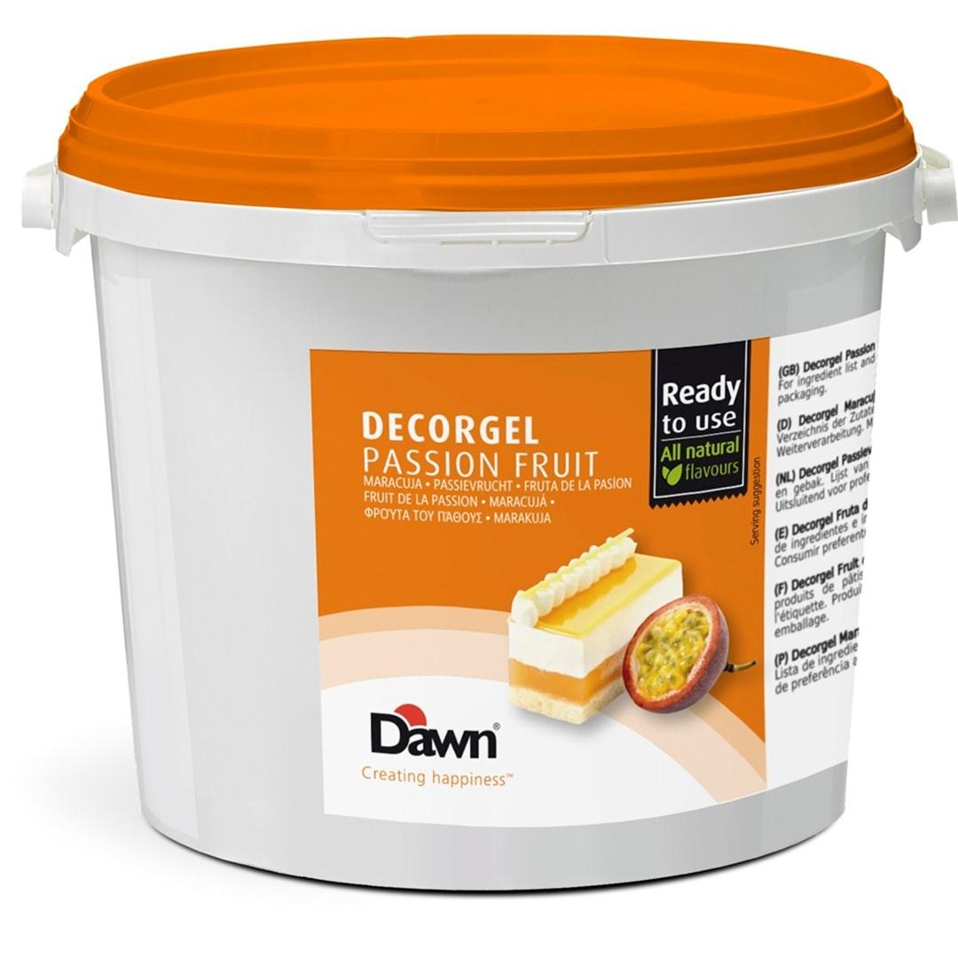 Productafbeelding Dawn Decorgel Passievrucht 3 kg emmer