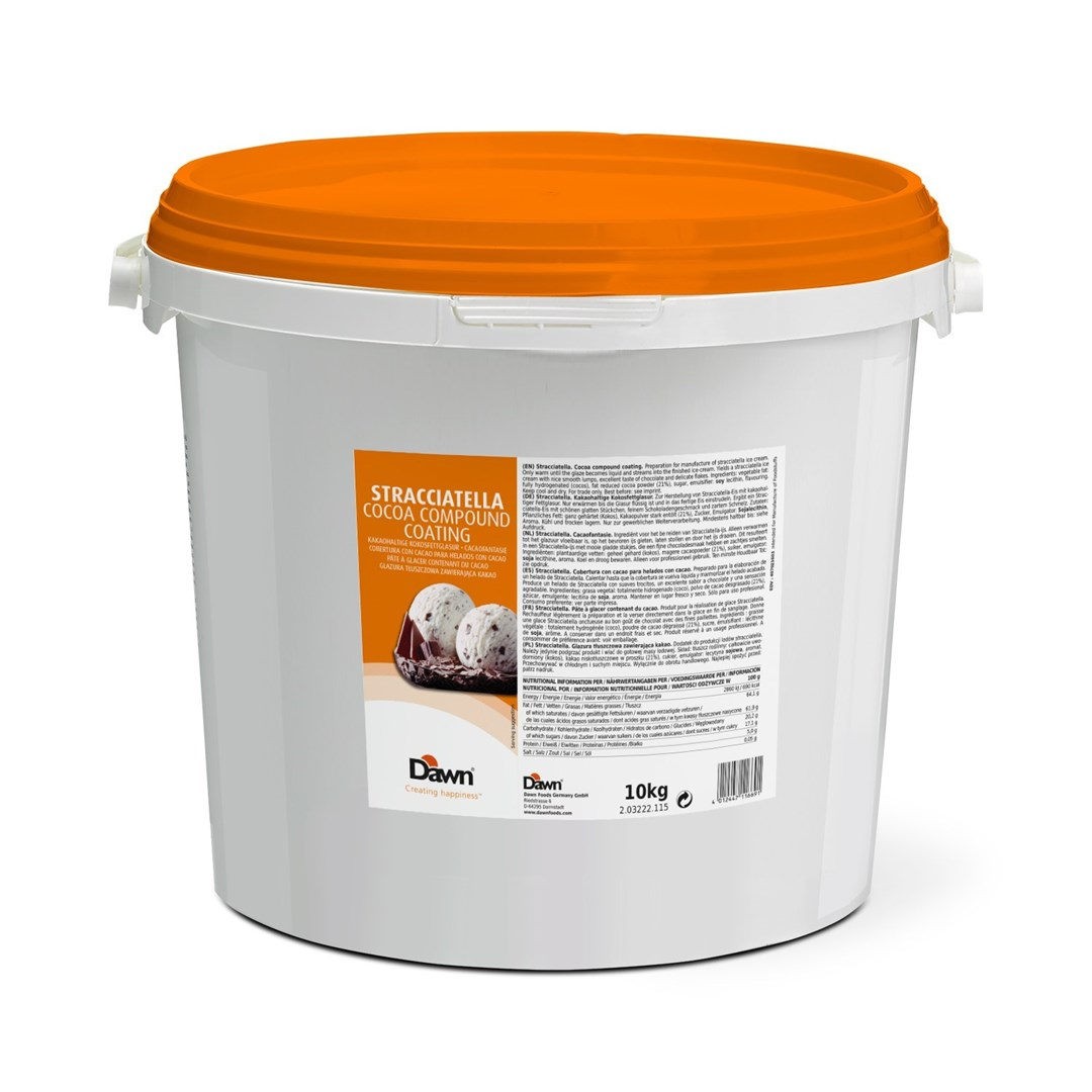 Productafbeelding Dawn Stracciatella Cocao-Fantasie 10 kg emmer