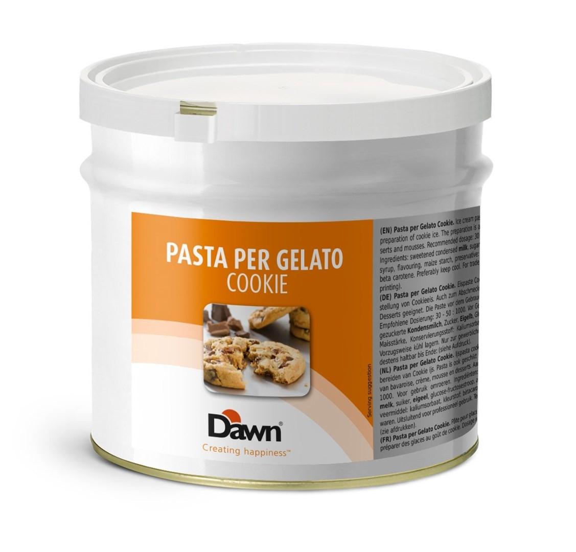Productafbeelding Dawn Pasta Per Gelato Cookie 3,5 kg blik