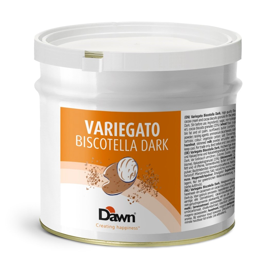 Productafbeelding Dawn Variegato Biscotella Dark 3 kg blik