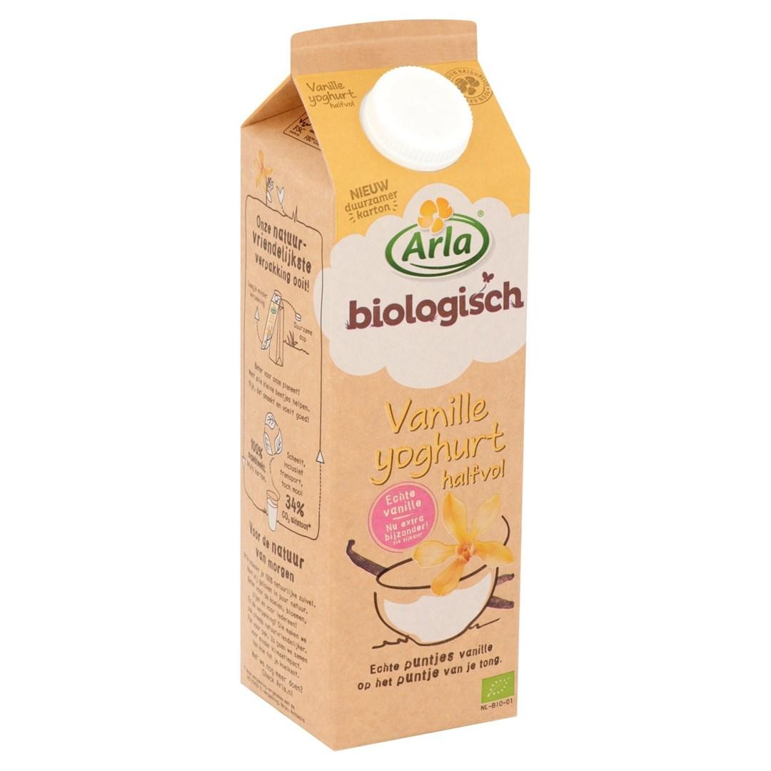 Productafbeelding Arla Biologisch Vanille Yoghurt 1L