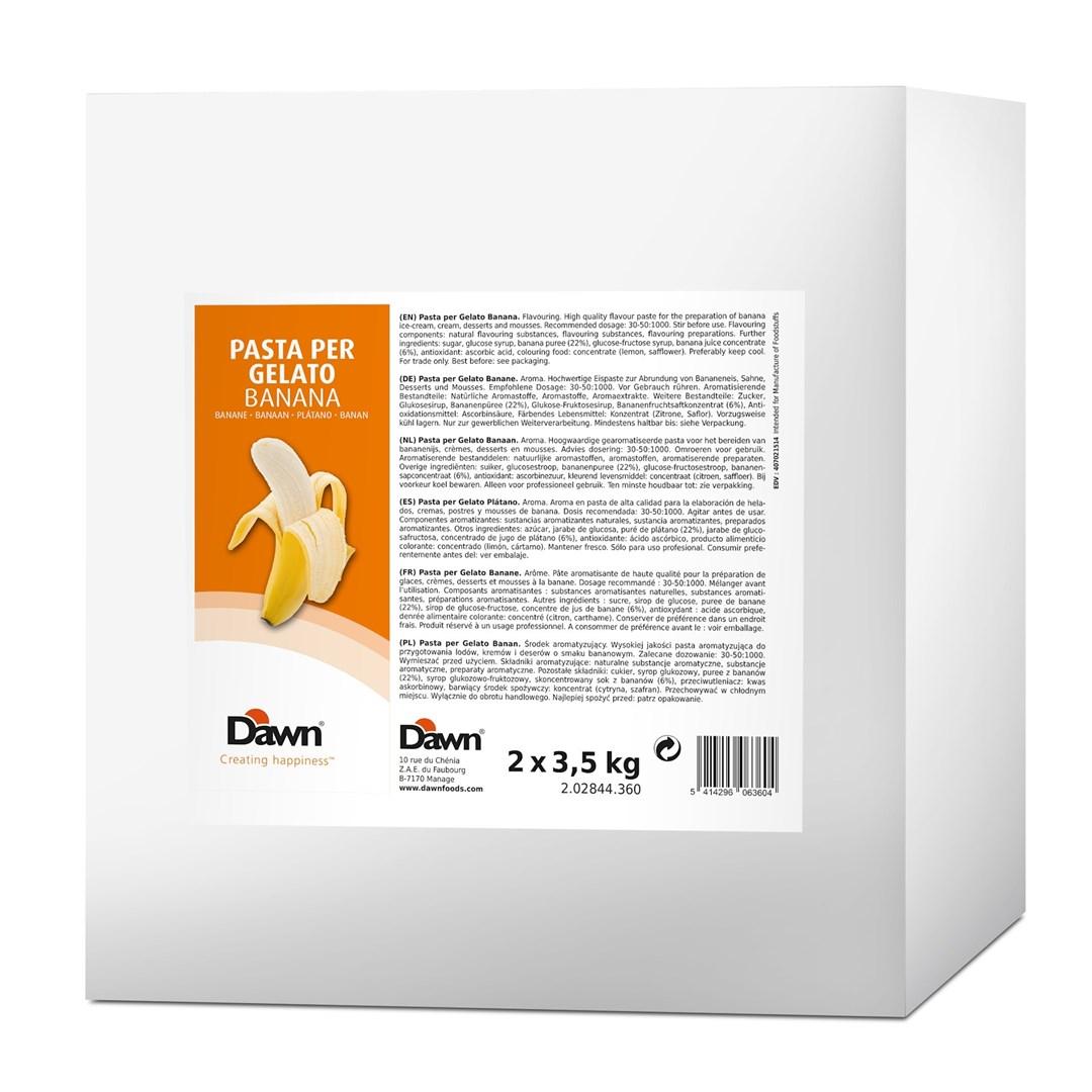 Productafbeelding Dawn Pasta Per Gelato Banaan 3,5 kg blik