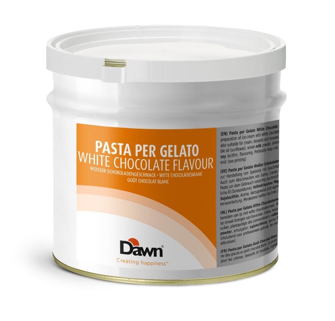 Productafbeelding Dawn Pasta Per Gelato Type White Chocolate 3,5 kg blik