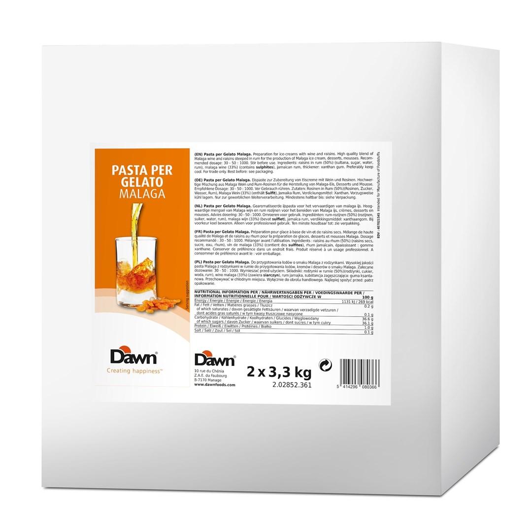 Productafbeelding Dawn Pasta Per Gelato Malaga 3,3 kg blik
