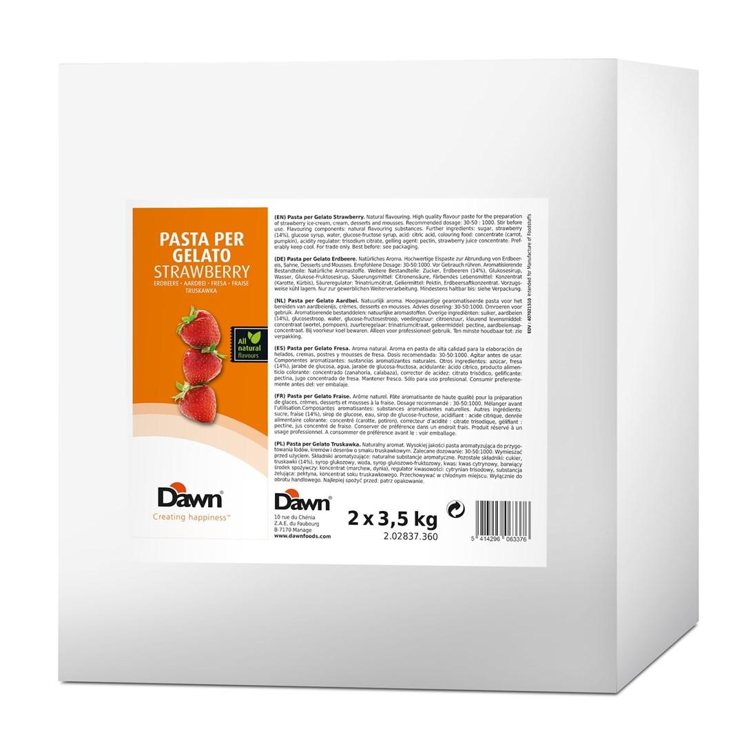 Productafbeelding Pasta Per Gelato Aardbei 3,5 kg blik