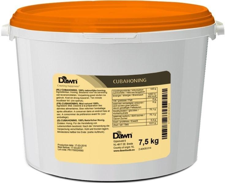 Productafbeelding Dawn Cuba Honing 7,5 kg emmer