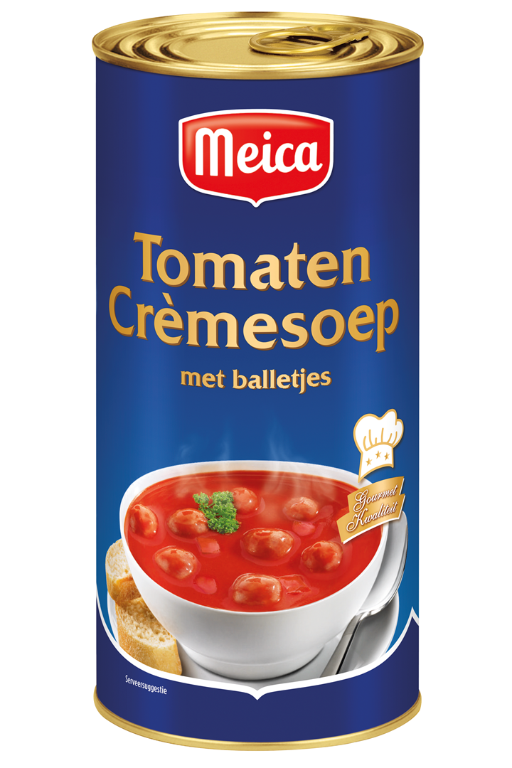 Productafbeelding Meica soep tomaten crème 1,6L blik