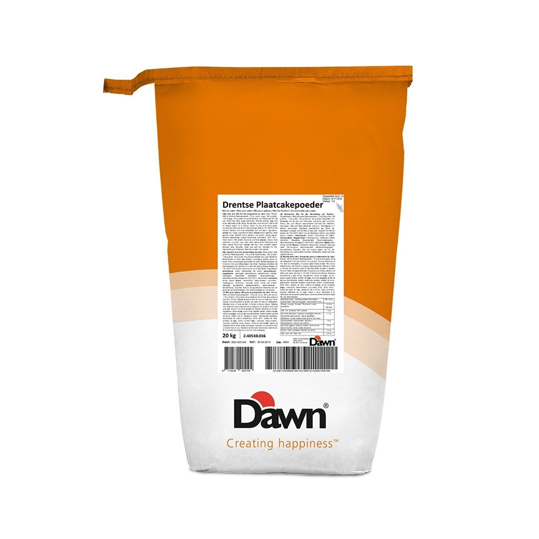 Productafbeelding Dawn Drentse Plaatcakepoeder 20 kg zak