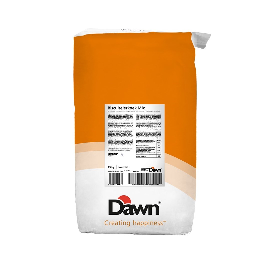 Productafbeelding Dawn Biscuiteierkoek Mix 15 kg zak