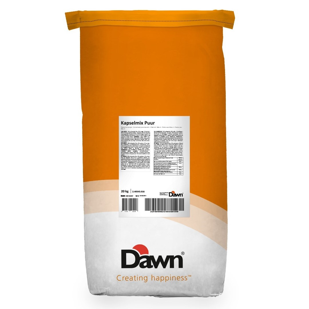 Productafbeelding Dawn Kapselmix Puur 20 kg zak