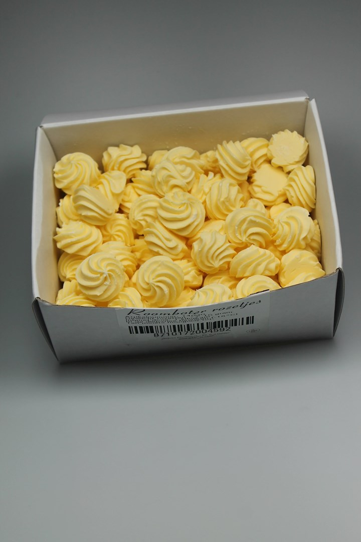 Productafbeelding Jacques' Culinair roomboter diepvries 1kg; rozet ±10gr