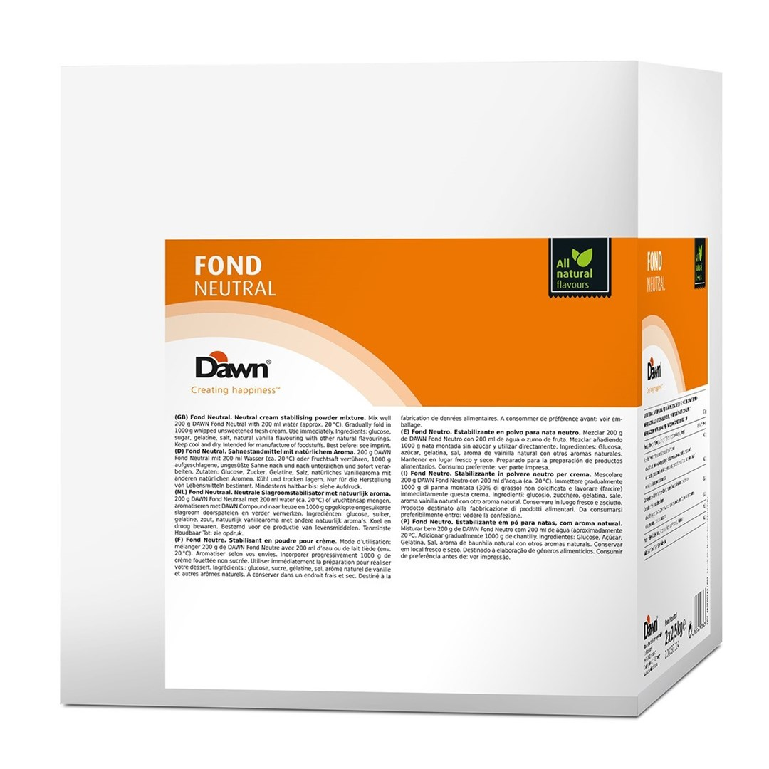 Productafbeelding Dawn Fond Neutraal 2,5 kg zak