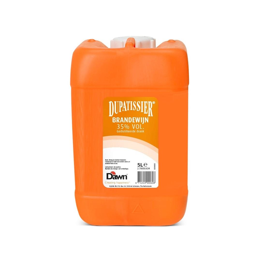 Productafbeelding Dawn Dupatissier Brandewijn 35% vol. gedistileerde drank 5 lt jerrycan