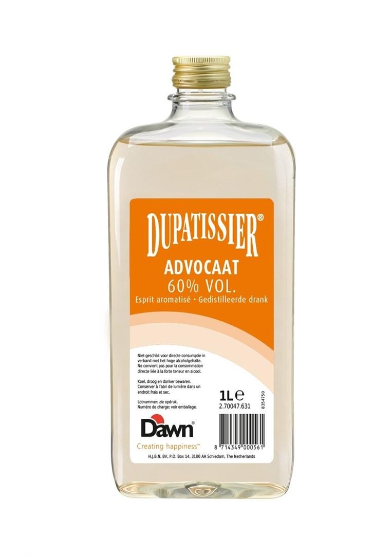 Productafbeelding Dawn Dupatissier Advocaat 60% vol. 1 lt fles