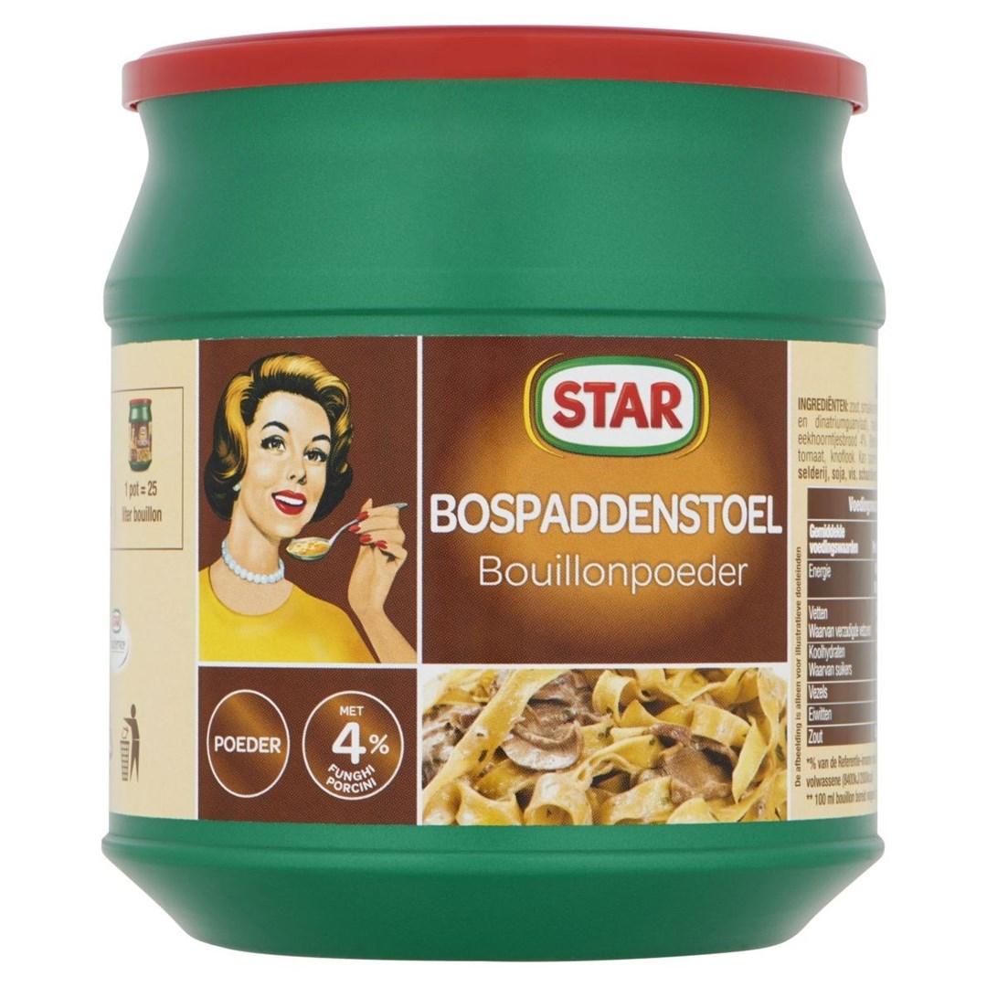 Productafbeelding Star Bouillonpoeder Bospaddenstoel 500 g Bus