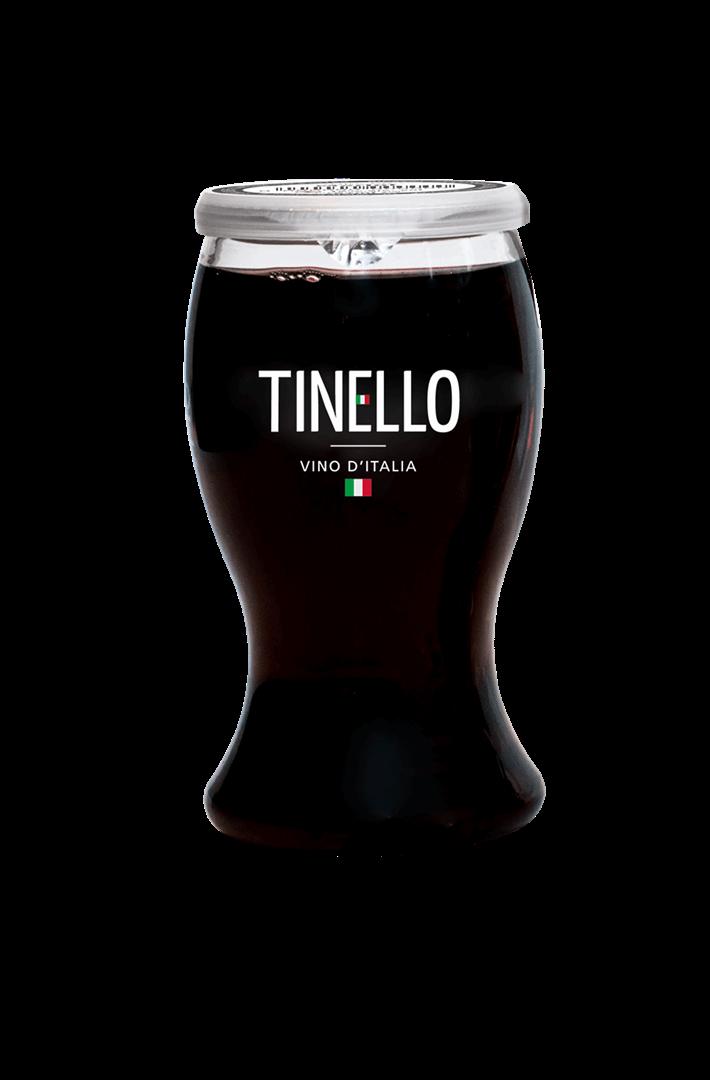 Productafbeelding Tinello wijn rood merlot vino d'Italia 187ml fles