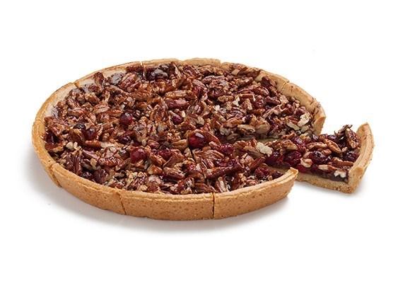 Productafbeelding Pecannoten en veenbessen taart