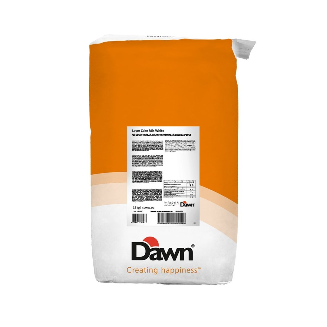 Productafbeelding Dawn Layer Cake Mix White 15 kg zak