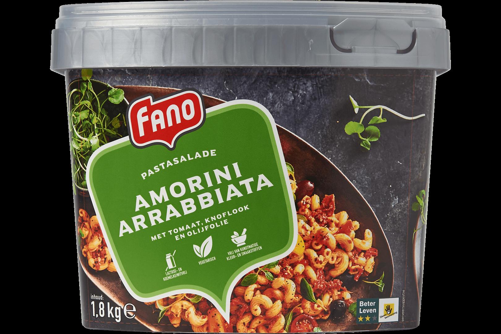 Productafbeelding FANO Pastasalade Arrabbiata 1,8kg