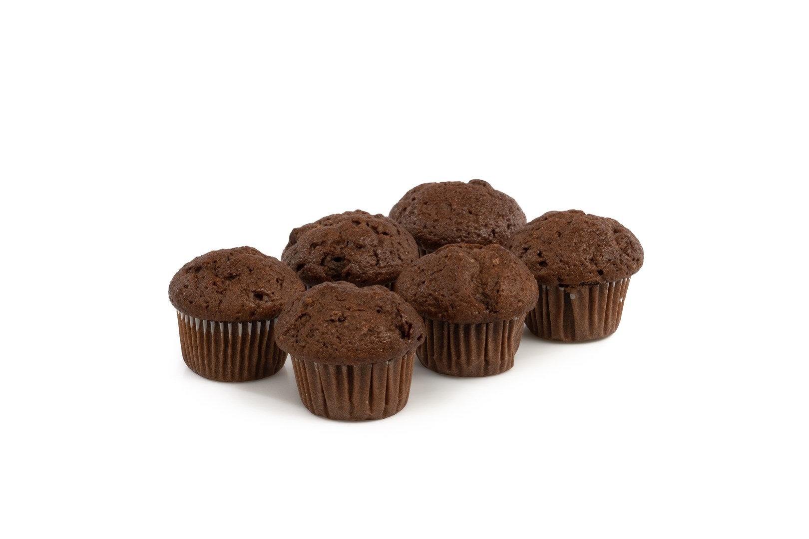 Productafbeelding Mini Muffins cacao met chocoladebrokjes
