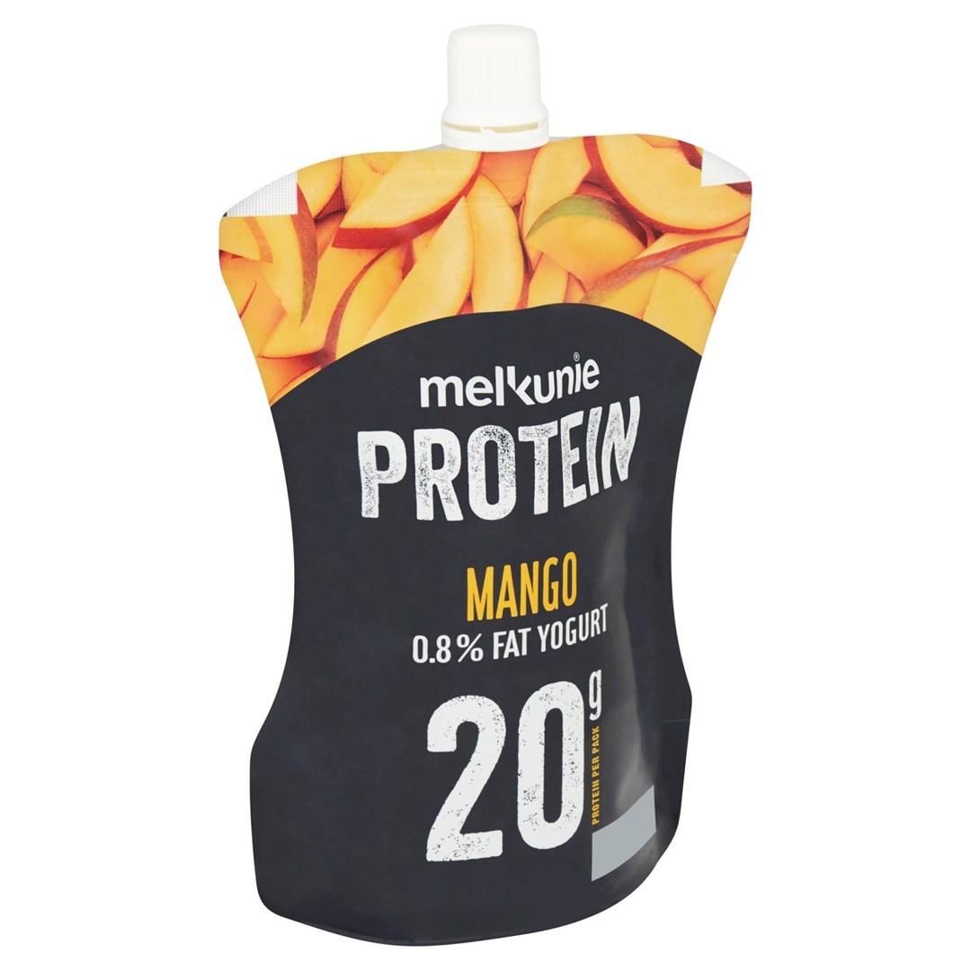 Productafbeelding Melkunie Protein Yoghurt Mango 200gr