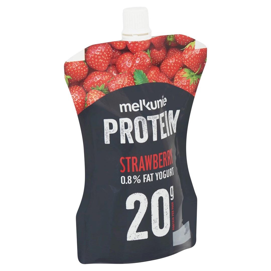 Productafbeelding Melkunie Protein Yoghurt Aardbei 200gr