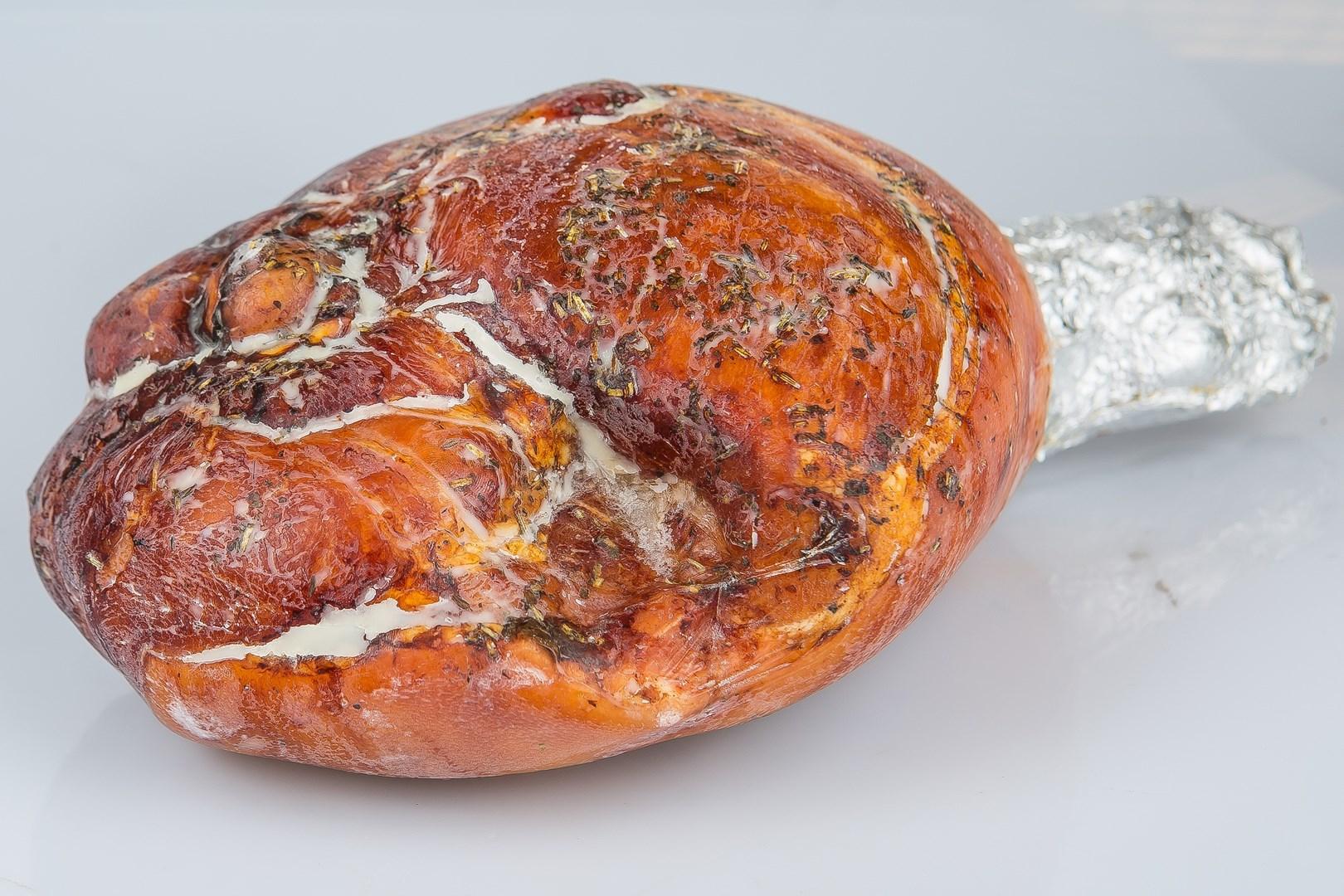 Productafbeelding Gegrilde speenvarken beenham