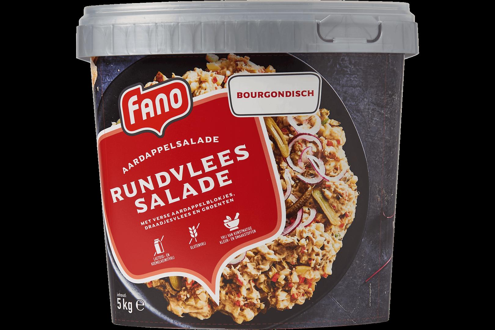 Productafbeelding FANO Bourgondische Rundvleessalade 5kg