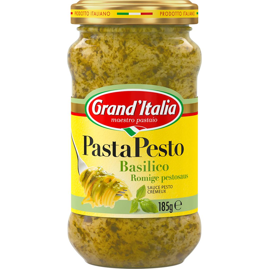 Productafbeelding Grand'Italia Pestosaus Basilico 185 g Bus