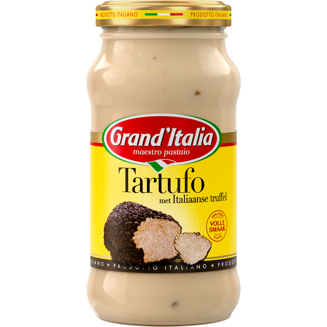 Productafbeelding Grand'Italia Roomsaus Tartufo 260 g Bus
