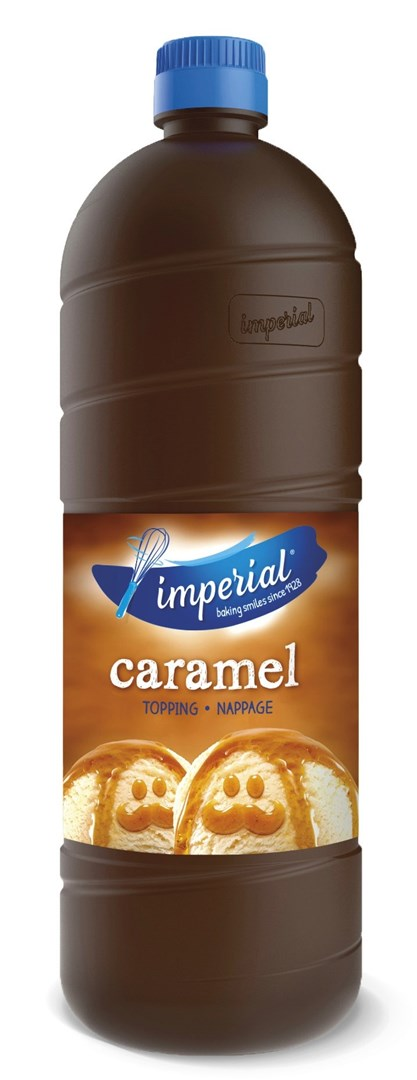 Productafbeelding Imperial Dessertsaus Caramel Topping 1 l Fles