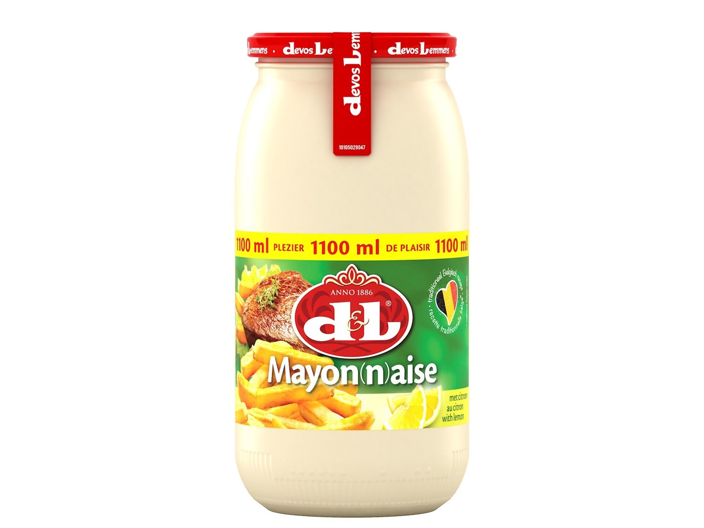 Productafbeelding D&L Mayonaise met Citroen 1100 ml Bus