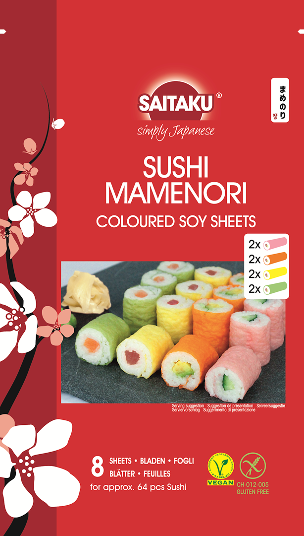 Productafbeelding Saitaku Soja Bladen Sushi Mamenori 16 g Zak