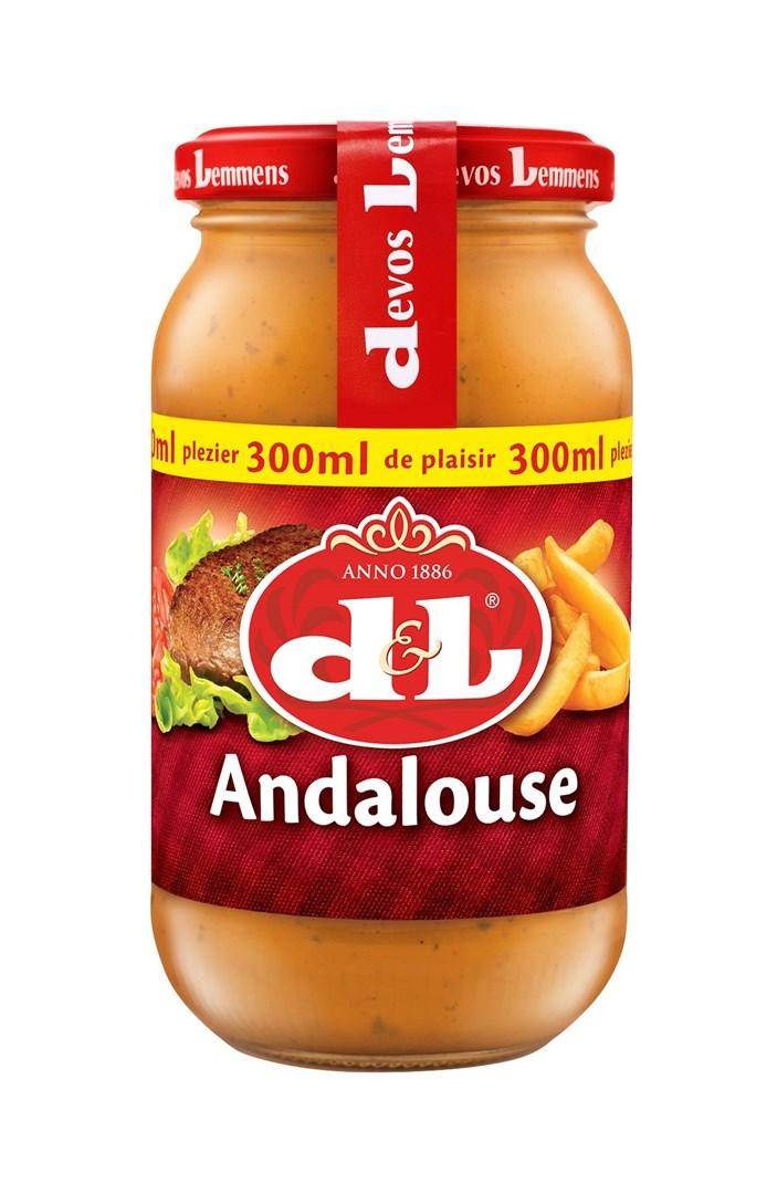 Productafbeelding D&L Saus Andalouse 300 ml Bus