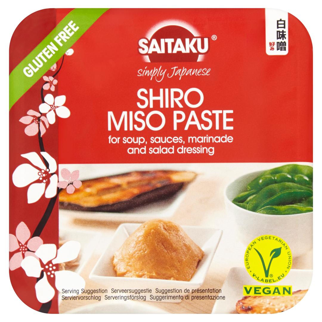 Productafbeelding Saitaku Shiro Miso Pasta 300 g Sojaboonpasta Beker/kuipje