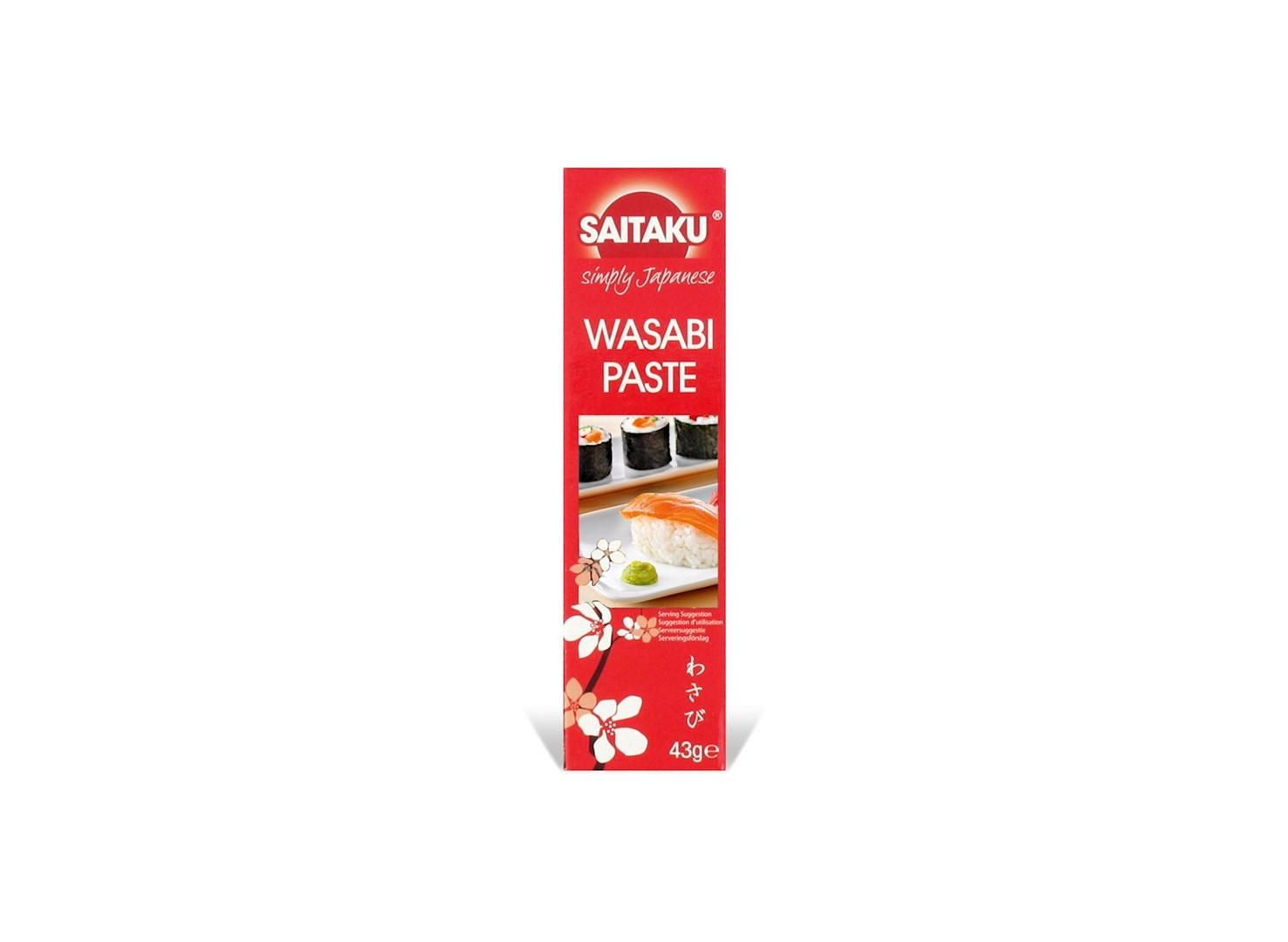 Productafbeelding Saitaku Wasabi Pasta 43 g Doos
