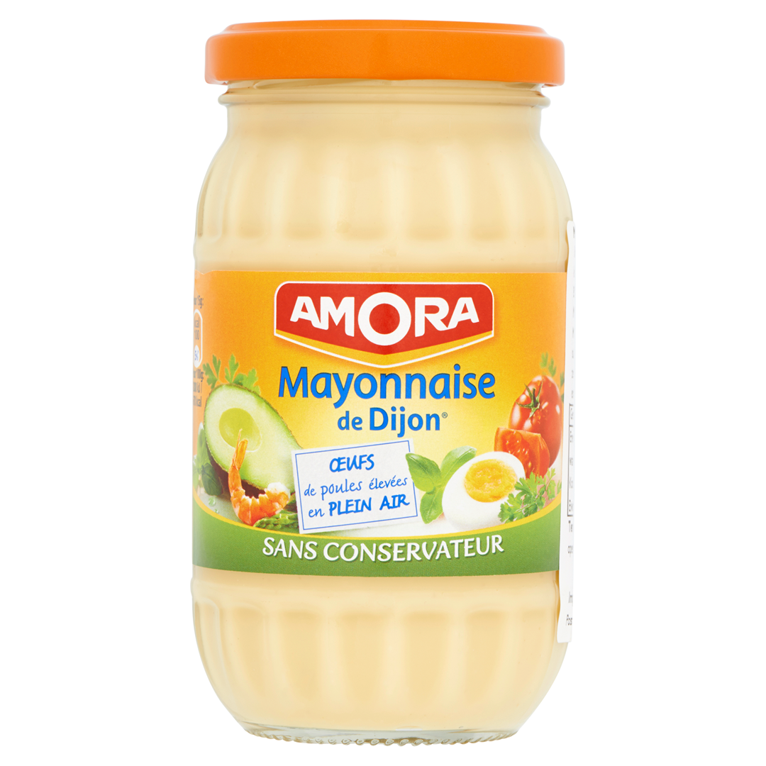 Productafbeelding Amora Mayonaise met Dijon Mosterd 235 g Bus