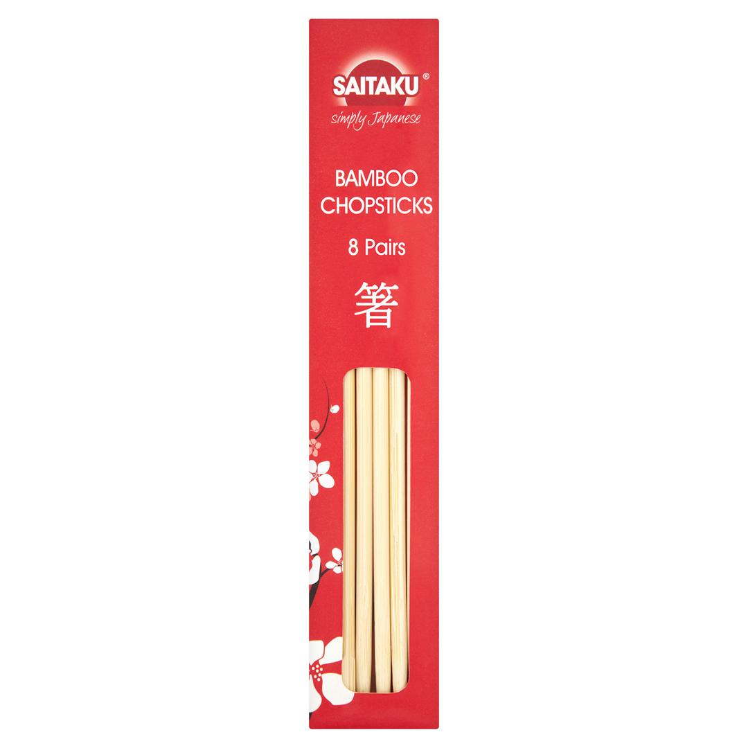 Productafbeelding Saitaku Eetstokjes Bamboo 8 st. Doos