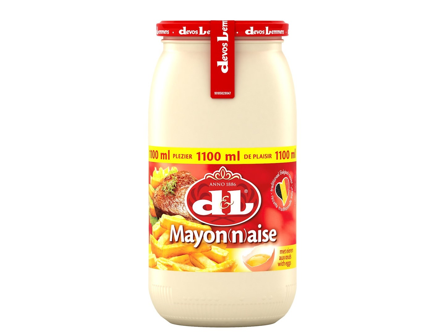 Productafbeelding D&L Mayonaise met Eieren 1100 ml Bus