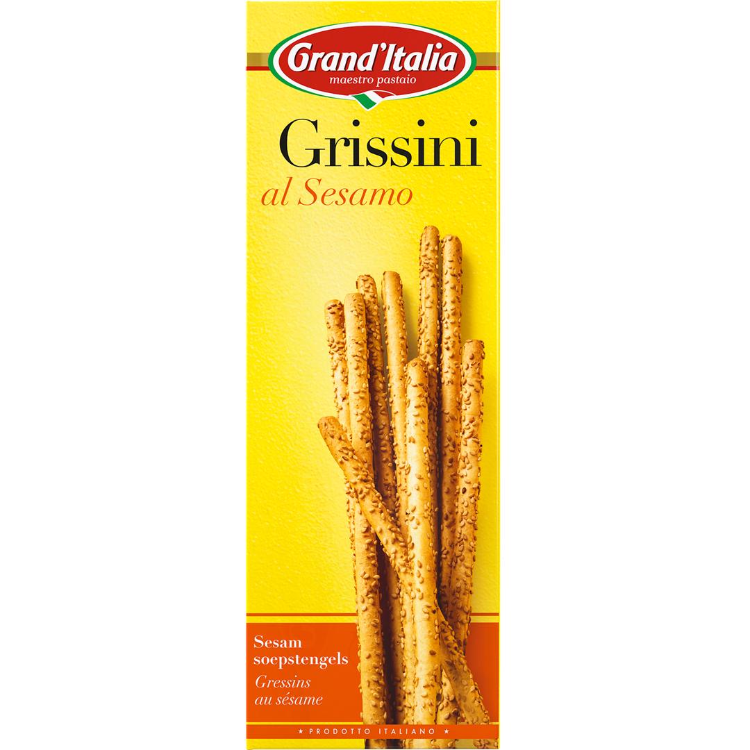 Productafbeelding Grand'Italia Soepstengels al Sesamo 100 g Doos