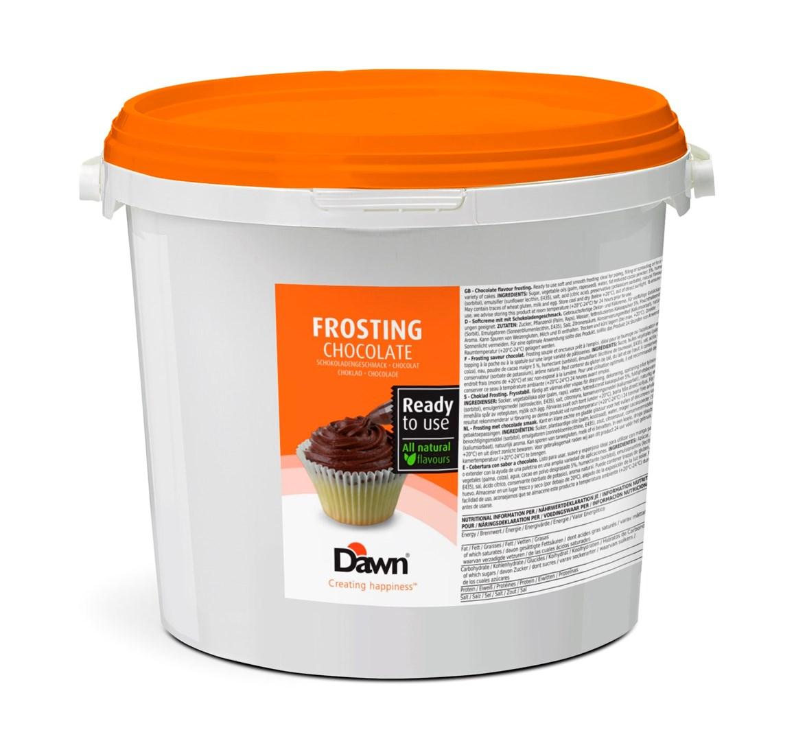 Productafbeelding Dawn Frosting met chocolade smaak 6 kg emmer