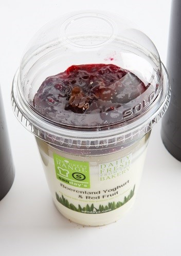 Productafbeelding Organic yoghurt & red fruit