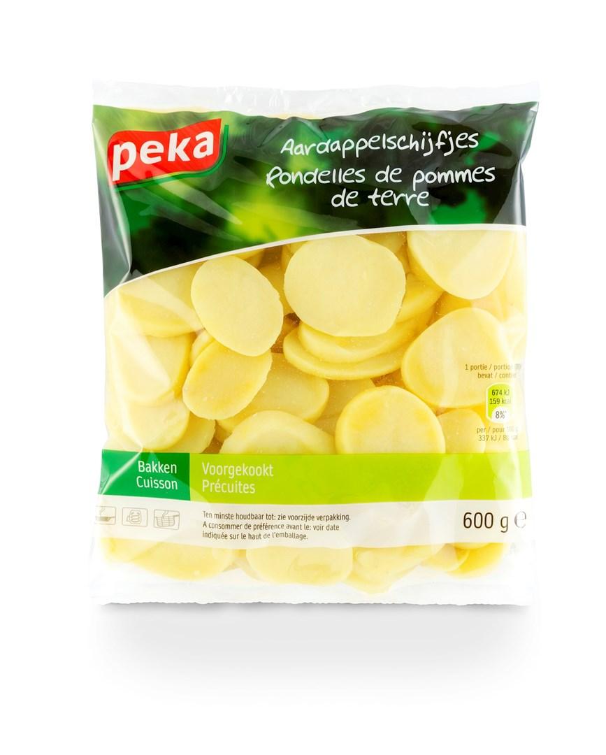 Productafbeelding Peka Aardappelschijfjes 600g