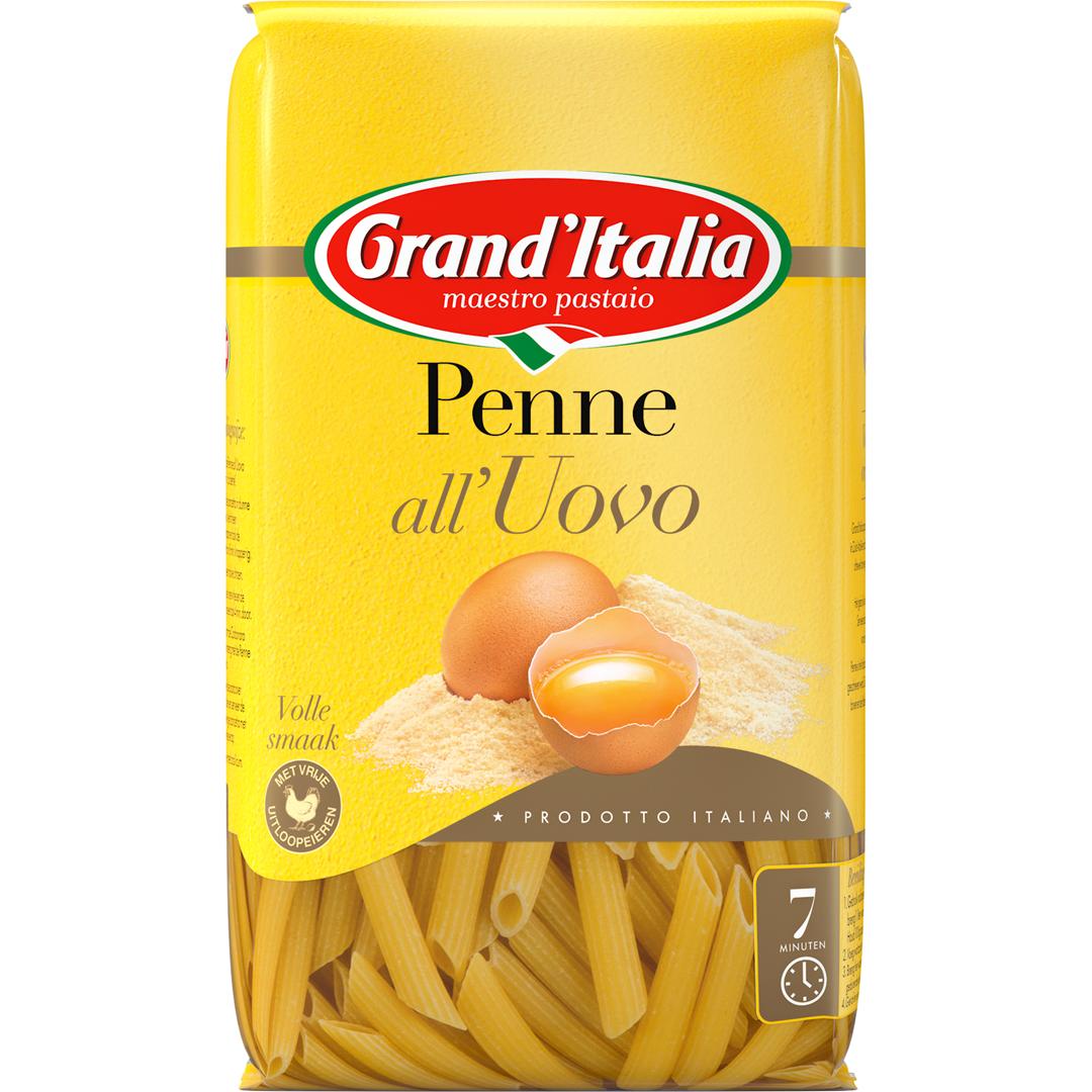 Productafbeelding Grand'Italia Pasta Penne all'Uovo 500 g Zak