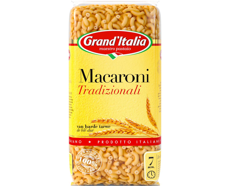 Productafbeelding Grand'Italia Pasta Macaroni Tradizionali 500 g Zak
